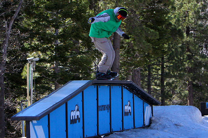 Nose press on the Gateway box on Creekside.