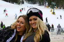 Fun times on the slopes.