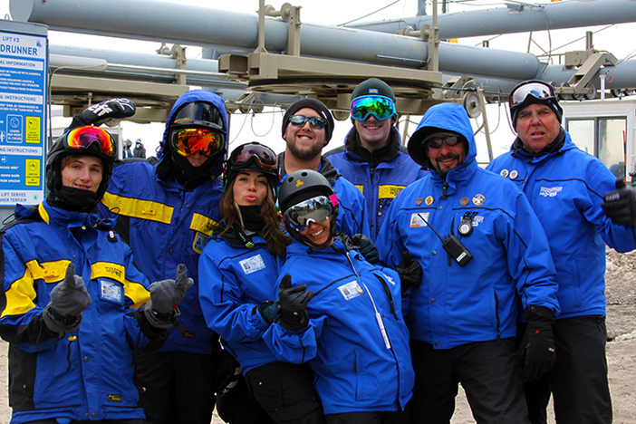 The Winter Sports School is waiting to teach you how to ski or snowboard.