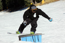 Kyle Lopiccolo backside boardslide on the down rail.