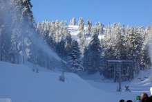 5 to 10 inches of new snow. What a great way to start Thanksgiving week.