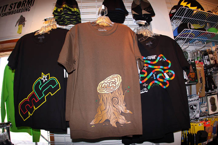 New Mountain High gear in the retail store at West!