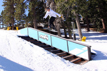 Ryan Paul gap to front board on the small stairs.