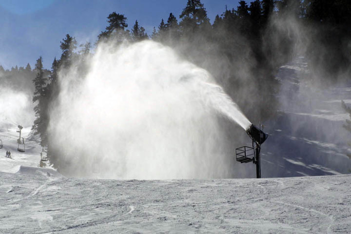 More than 85 hours of snowmaking!