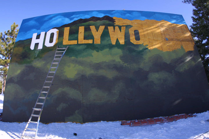 The Hollywood Wallride is taking shape.