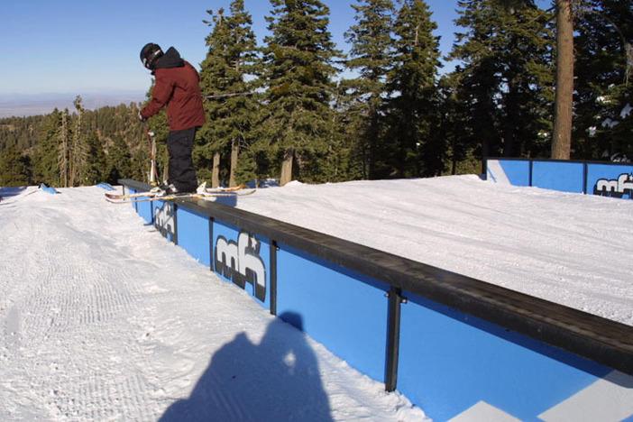 Did someone order a ski slide on the Long Ranger?