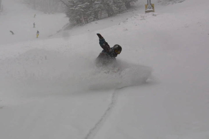 Come get your powder fix in today!