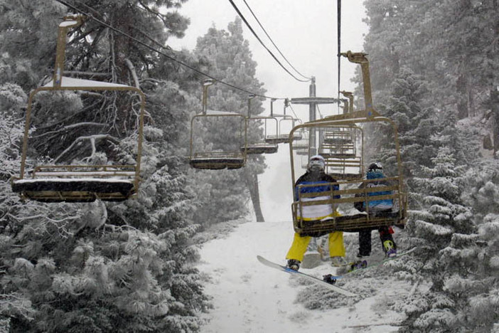 It's going to be a fun day with all the new snow!
