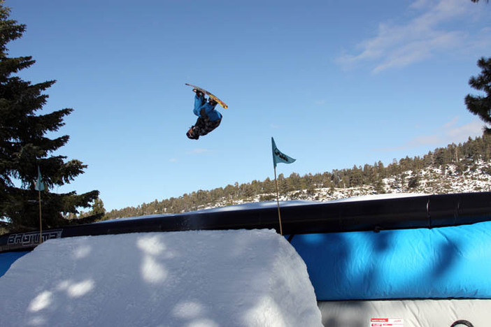 The Airbag is the place to get inverted!