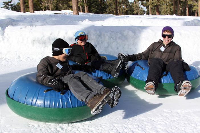 Tubing at North is so much fun!