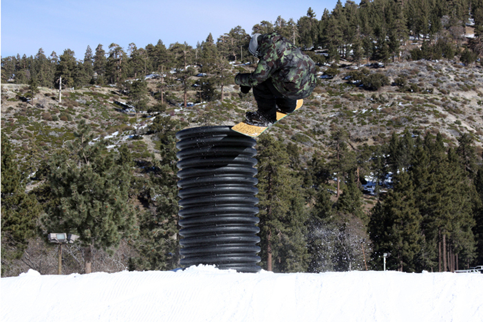 Getting corrugated at Mountain High!