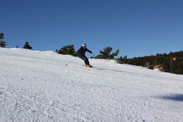 Find some long, wide open runs at the East Resort!