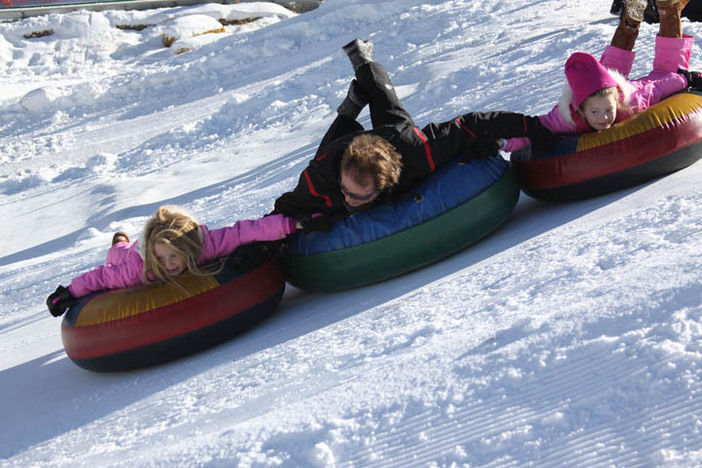 Take a visit to The North Pole Tubing Park today!