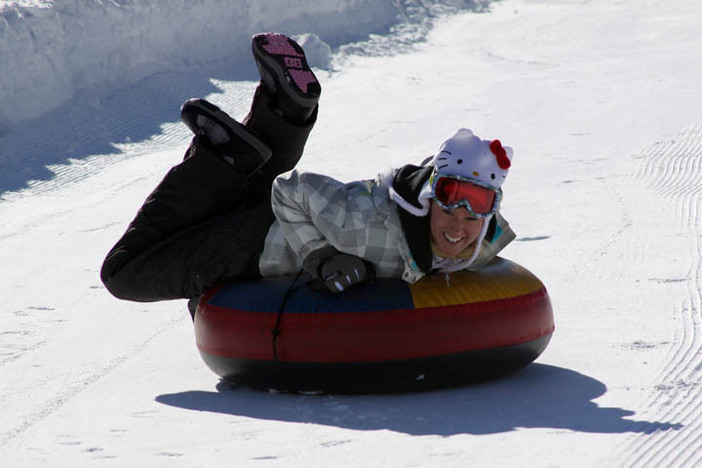 Visit The North Pole Tubing Park for some winter fun!