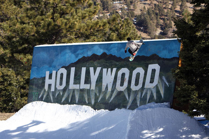 Trevor Haas on the new Hollywood Wall Ride.