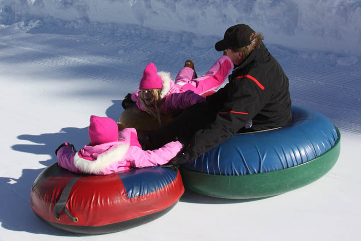 The North Pole Tubing Park is the place to be!