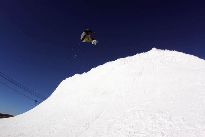 Check out all of the action going down at The Wedge Quarter Pipe!