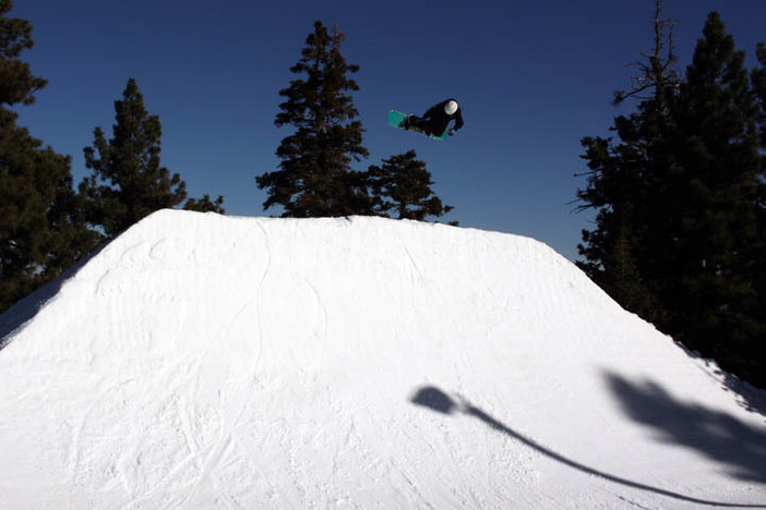 Going big on The Wedge Quarter Pipe!
