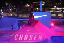Nike's CHOSEN rail jam was a huge hit!