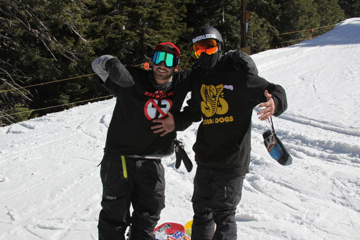 Good friends, and great times up here at Mountain High!