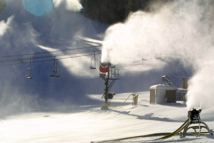 Recent cold temps have made for great snowmaking!
