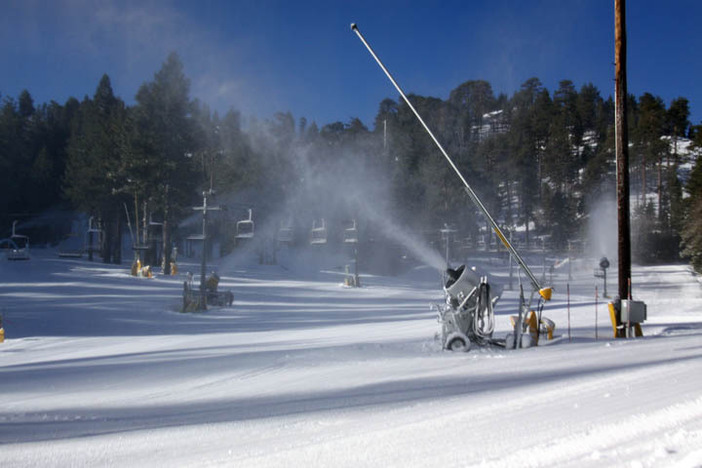 Forget Friday the 13th!  Every day is a lucky day when we're making snow.