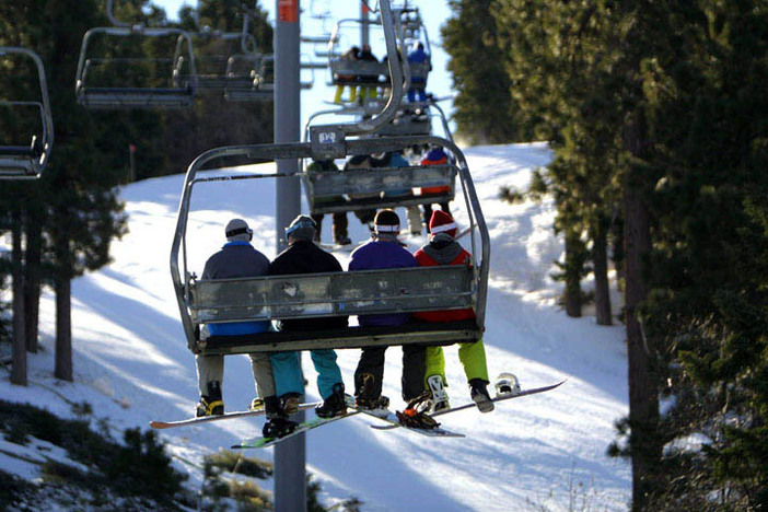 The chair ride to shredder heaven!