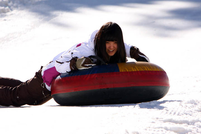 Bring the whole family up for a fun day in the snow at the North Pole Tubing Park.