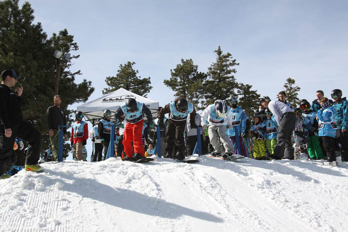 USASA competitors in this weekend's BoarderCross event.