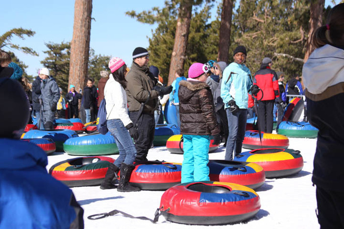 Head to the North Pole Tubing Park for winter fun.  Now open every Saturday and Sunday.