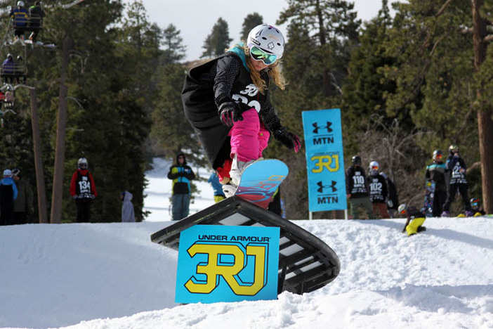 Slaying the C-Box during yesterday's 3rd Rail Jam.
