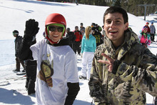 Come enjoy the new snow and great vibes.