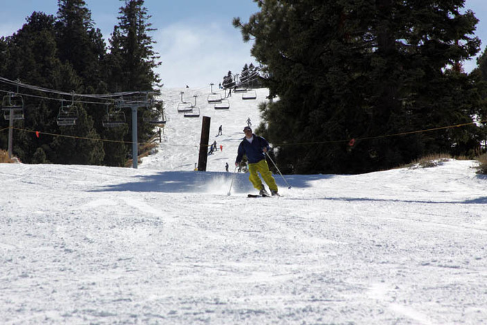 Loving the long runs and uncrowded slopes at East.