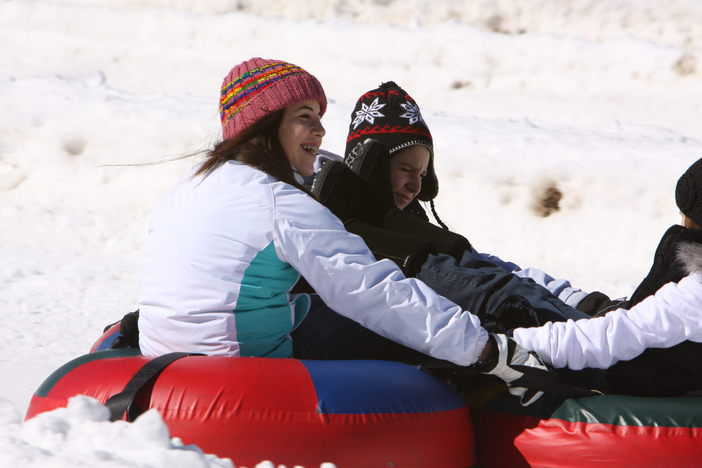 Tubing is SNOW fun!!