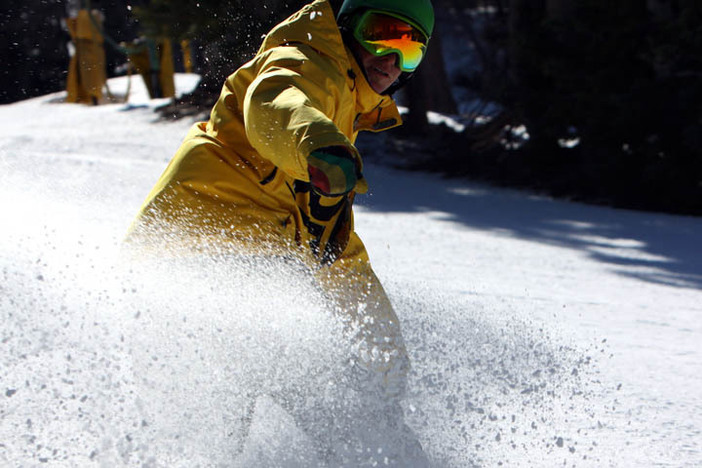 Perfect conditions this week at the High.