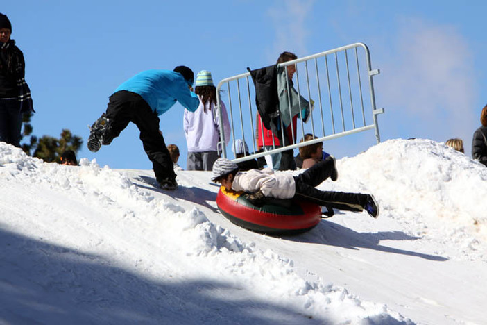 """Adding a new """"spin"""" to the tubing park."""