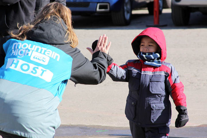 High Fives for kids of all ages.