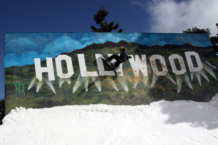 Hit up the Hollywood Wallride on the Wedge.