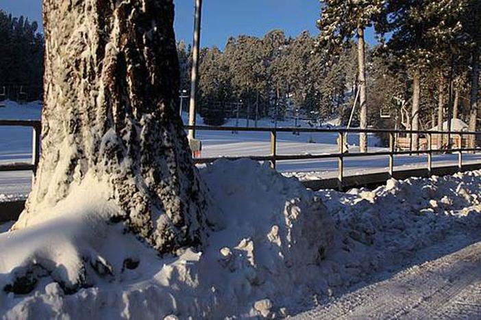Fresh snow!!
