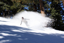 Huge POW slashes...Good times here at Mountain High.