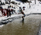 Pond Skimming, the most popular event at Spring A Ma Jig.