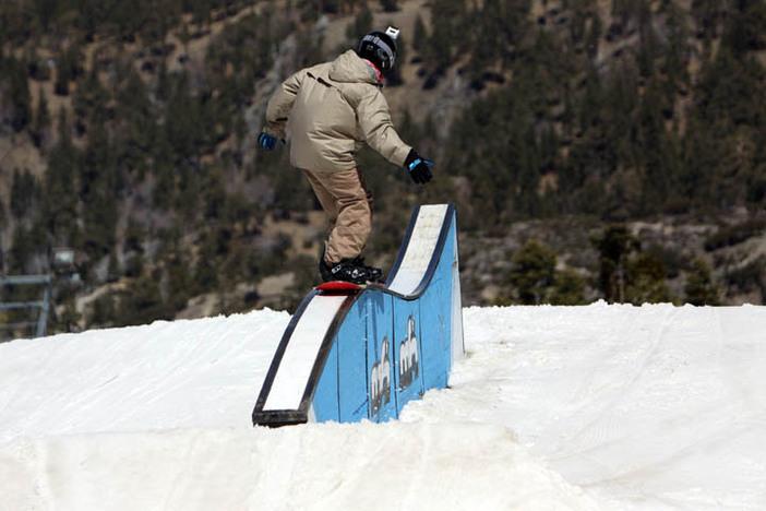 Roller Jump Box on Borderline.
