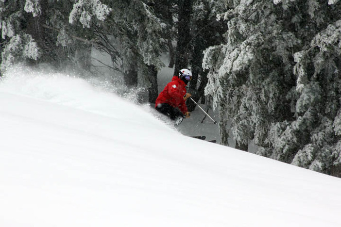 8 to 12 Inches of fresh powder.