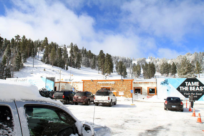 Bright blue skies cover the West Resort.  Photo courtesy of Dennis Nadalin.