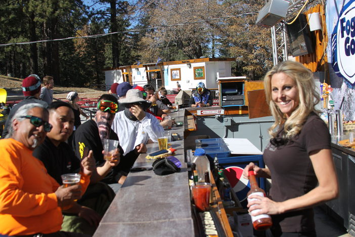 Join us Sunday at the Foggy Goggle slope-side bar  for a refreshing beverage and the NFL games.