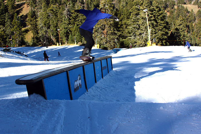 Nose Press on the Ledge Box on Upper Chisolm.
