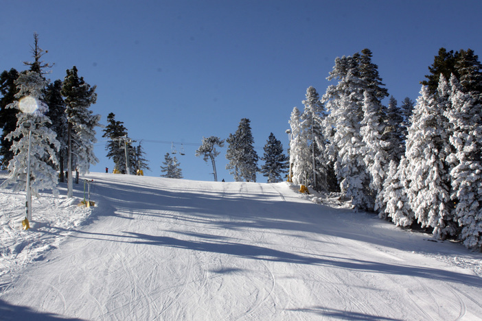 View of Borderline from the chairlift.