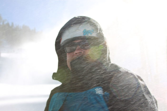 The life of a snowmaker isn't all that glamorous, but it sure is cool....