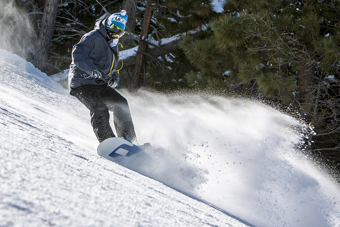 Still carving up that packed powder on Wildcard at our East Resort.