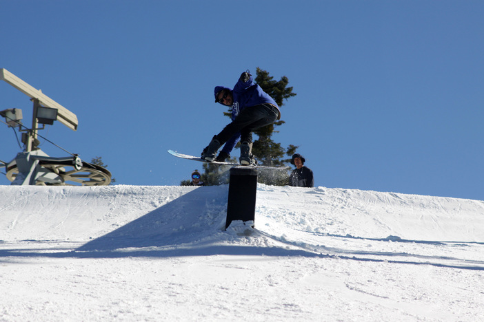 the down ledge box on upper chisolm has been going off!